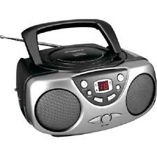 Portable Cd Boom Box W/ Am/Fm Radio; CD-R Disc Player; Headphone Jack; Colors