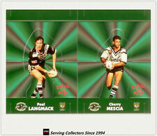 1997 Dynamic Rugby League POP-UP CARDS Team Sets-WEST MAGPIES(2)