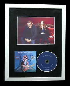 BEAUTIFUL SOUTH+SIGNED+FRAMED+BLUE IS THE COLOUR=100% AUTHENTIC+FAST GLOBAL SHIP