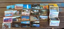 Lot of 20+ Vintage US Cities, States and Attractions Postcards - Unused