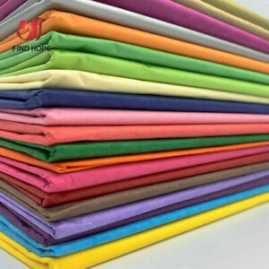 10PCS BUNDLE SHEETS ACID FREE TISSUE PAPER VARIOUS COLOUR 50x35CM/50cm*75cm GIFT