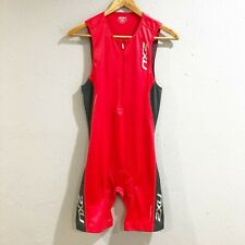 2Xu Mens M Sbr Skin 2 Red Comp Triathlon Tri Suit Sleeveless