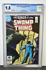 Saga of the Swamp Thing #21 (1984) CGC Graded 9.8 ~ New Origin of Swamp Thing