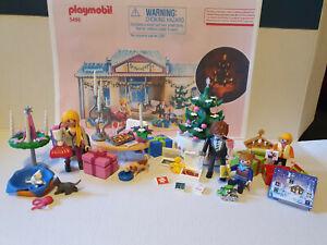 Playmobil 5496 Adventskalender-Weihnachtsabend-Vollständig !!!
