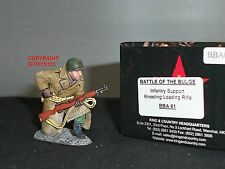 KING AND COUNTRY BBA61 US INFANTRY SUPPORT KNEELING LOADING RIFLE TOY SOLDIER