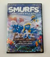 Smurfs: The Lost Village (DVD) New Sealed