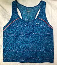 Nike Dri-FIT Women's Blue Training Tank Size XS