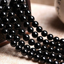 64 PCS Beads Dragon Veins Natural Agate Round Stone Loose Beads Gems 14'' 6mm