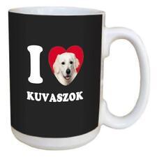 I Love Kuvaszok Ceramic Coffee Tea Mug Cup Gift Present Kuvasz Dog Breed New