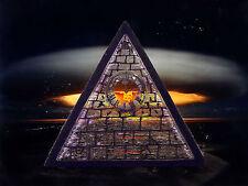 Doomsday Armageddon Pyramid Illuminati Occult Revelation Nuclear End 666 Patch