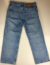 TOMMY HILFIGER BOYFRIEND CROPPED CAPRI WOMENS JEANS SIZE 6 (30x25) MEDIUM BLUE