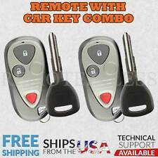 Keyless Entry Remotes Amp Fobs For Acura Rsx For Sale Ebay