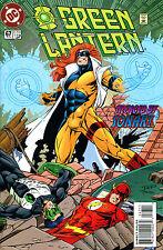 Green Lantern #67 Signed By Artist Paul Pelletier (Lg)