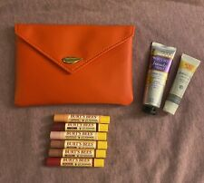 8 pc. Burt's Bees Lot + Ipsy Bag - Lip Shimmers, Mask, Handcream - New & Sealed