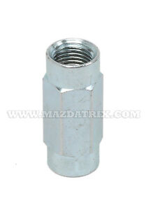 Fitting-Metric 10mm x 1.0 Union for Bubble Flare(One union/item)Partial Hexagon