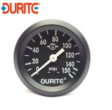 Durite 0-533-01 Mechanical Air Pressure Gauge with 12' Capillary - 52mm
