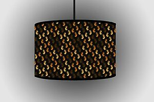 30cm Lightning Dark Brown Lampshade Drum Lampshade Ceiling Lamp indoor Lampshade