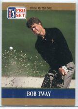 1990 Pro Set PGA Tour Prototype Bob Tway Card