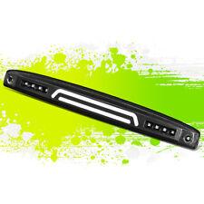 FOR 03-06 DODGE RAM TRUCK 3D LED BAR REAR CENTER TAILGATE LAMP BRAKE LIGHT BLACK