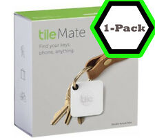 Tile Mate - 1 Pack - Key Wallet Cellphone Item Bluetooth GPS Tracker Finder