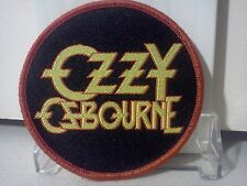 "Ozzy Osbourne 2 1/2"" Promo Patch/Sony Release.Great Condition"