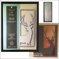 Graceful Stag Collage metal die Memory Box cutting dies 99604 deer buck animals