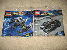 LEGO Batman Super Heroes 30300 Tumbler 30301 Batwing BRAND NEW 2 Sets