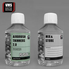 VMS Airbrush thinner CONCENTRATE 6.7oz=17oz Mix own thinner! Vallejo compatible