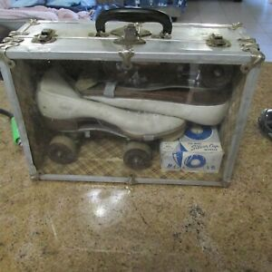 """Vtg Betty Lytle """"Styled by HYDE"""" Roller Skates Women's 10 with Case (See Details"""