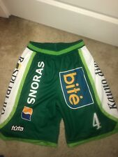 Authentic Game Worn On Court Nba Euroleague Shorts **ONE TIME AUCTION**