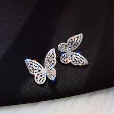 Fashion Butterfly Crystal Luxury Zircon Earrings Earrings For women Party Gift