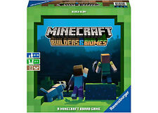 Ravensburger Minecraft Builders & Biomes Board Game 194pce