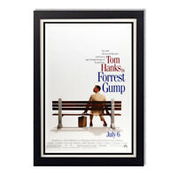 Forrest Gump Tom Hanks Bus Stop 1994 Movie Reproduction Poster 11x24in 24x36in