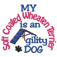 My Soft Coated Wheaten Terrier is An Agility Dog Long-Sleeved T-Shirt Dc1982L