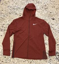 New Men's Nike Dri-Fit Therma Full-Zip Running Hoodie Size XL
