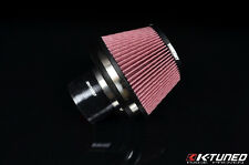 "K-TUNED 3"" VELOCITY STACK AIR FILTER COMBO UNIVERSAL Integra Civic RSX S2000 CRX"