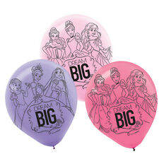 Disney Princess 12 inch Helium Quality Latex Balloons (6 pack) - 111621