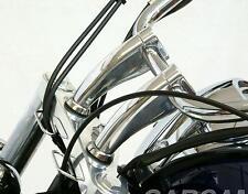 "5.5"" Chrome Handlebar Risers For Honda Shadow VT750 1100 VTX 1300 1800 GOLD WING"