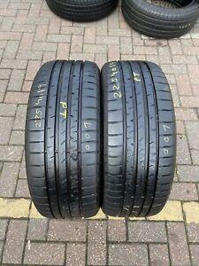225 40 R 19 89Y Goodyear Eagle F1 * Asymmetric 2 Run Flat Rsc RFT 2x Tyres Pair