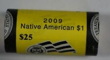 2009-P *Unopened* BU Roll OBW of 25 Sacagawea Native American $1 Dollar Coins