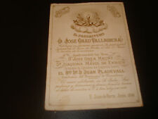 estampa antigua del Caliz heiligenbild santino holy card  santini