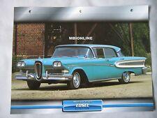 Edsel Citation Dream Cars Card