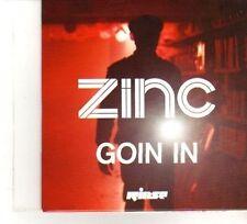 (DW302) Zinc, Goin In - DJ CD