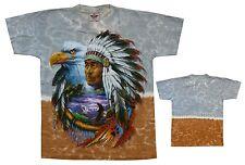 T-shirt indios, águila talla M, jefe, estados unidos native Biker vaquero Trucker jinete
