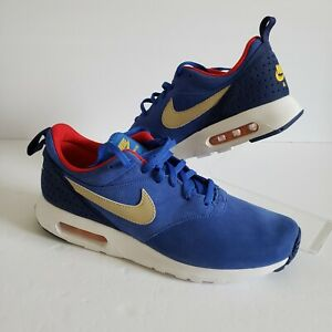 Nike Mens Air Max Tavas LTR Royal Blue Size 10 802611-407