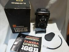 Lubitel 166B 166 B V Lomo Lomography Russian camera Box Case Manual  8002