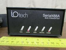 iO Tech Serial488A RS-232, 422, IEEE-488 Interface Bus Converter