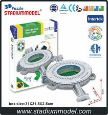 3D Puzzle Model Paper Brazilian World Cup maracana stadium world architecture