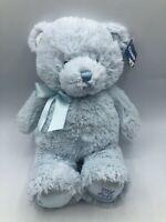 Baby Gund My First Teddy Light Blue Bear Plush Kids Soft Stuffed Toy Animal Doll