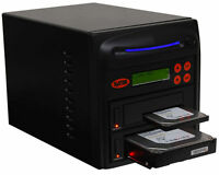 "SySTOR 1:1 SATA 2.5""&3.5"" Dual Port Hard Drive Duplicator/Wipe -Hi Speed 150MB/s"